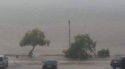 Θεσσαλονίκη: Προβλήματα στον Δήμο Θερμαϊκού από την καταιγίδα