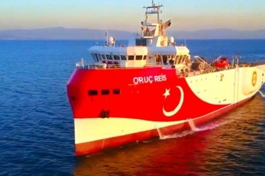 Στην ελληνική υφαλοκρηπίδα το Ορούτς Ρέις - Αντίδραση από το Πολεμικό Ναυτικό