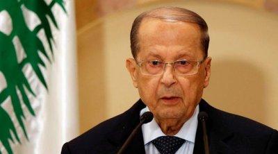 Βηρυτός: Ο πρόεδρος του Λιβάνου αποδέχθηκε την παραίτηση της κυβέρνησης