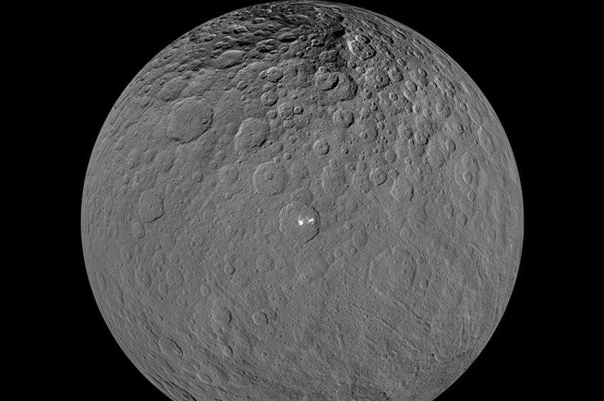Ο νάνος πλανήτης Δήμητρα είναι άλλος ένας υπόγειος ωκεάνιος κόσμος, σύμφωνα με νέα στοιχεία