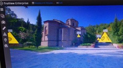 Εικονική περιήγηση με τρισδιάστατη απεικόνιση στα Μοναστήρια της Πιερίας