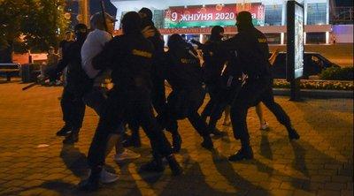 Λευκορωσία: Συγκρούσεις μεταξύ αστυνομικών και διαδηλωτών στο Μινσκ - Για δεκάδες συλλήψεις κάνουν λόγο οι αυτόπτες μάρτυρες
