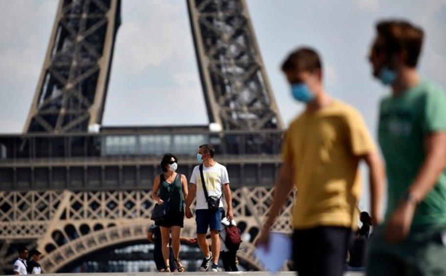Γαλλία: Ρεκόρ άνω των 45.000 νέων κρουσμάτων κορωνοϊού σε μία ημέρα