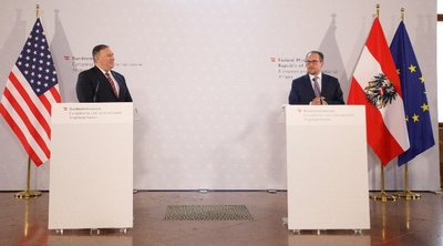 Τη μεταξύ τους «μεγάλη φιλία» παρά τις διαφορές απόψεων, διακηρύσσουν Βιέννη και Ουάσιγκτον