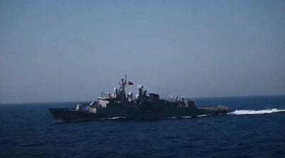 Γέρνει η φρεγάτα KEMAL REIS μετά την επαφή με την ΛΗΜΝΟΣ – «Άγνοια» για το υπουργείο Εθνικής Άμυνας