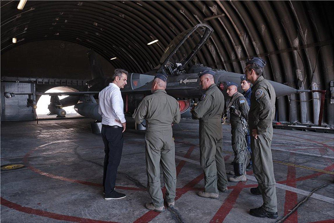 Μητσοτάκης: Η ισχυρή αποτρεπτική ικανότητα των Ενόπλων Δυνάμεων αποδείχθηκε έμπρακτα στο πεδίο