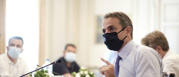 Σύσκεψη Μητσοτάκη το Σάββατο για το σχέδιο εμβολιασμών και την εκστρατεία ενημέρωσης των πολιτών