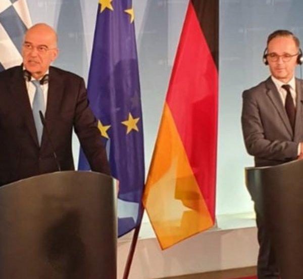 Επικοινωνία Δένδια με τον Γερμανό υπουργό Εξωτερικών
