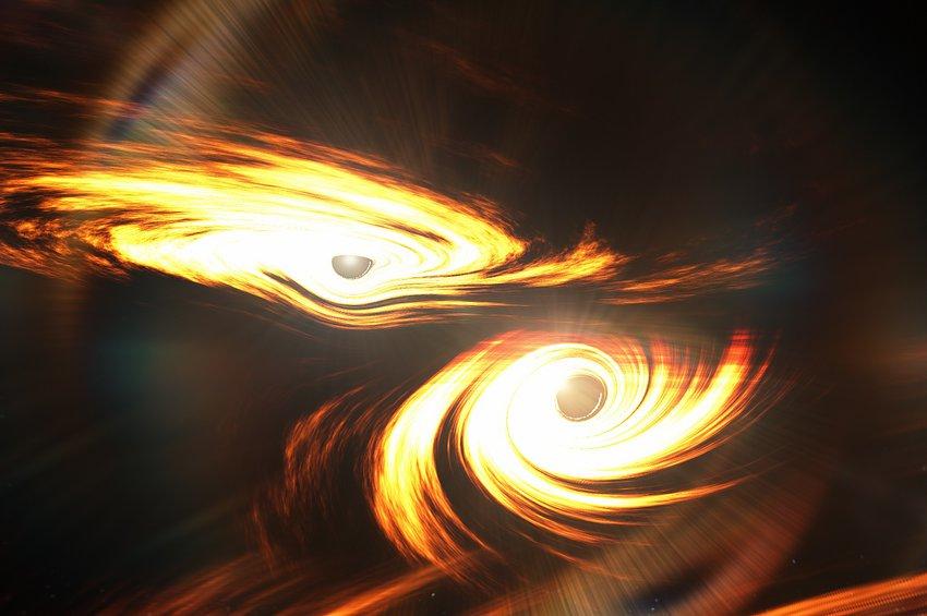 Οι ανιχνευτές βαρυτικών κυμάτων LIGO και VIRGO έπιασαν την πιο μεγάλη και μακρινή συγχώνευση δύο μαύρων τρυπών
