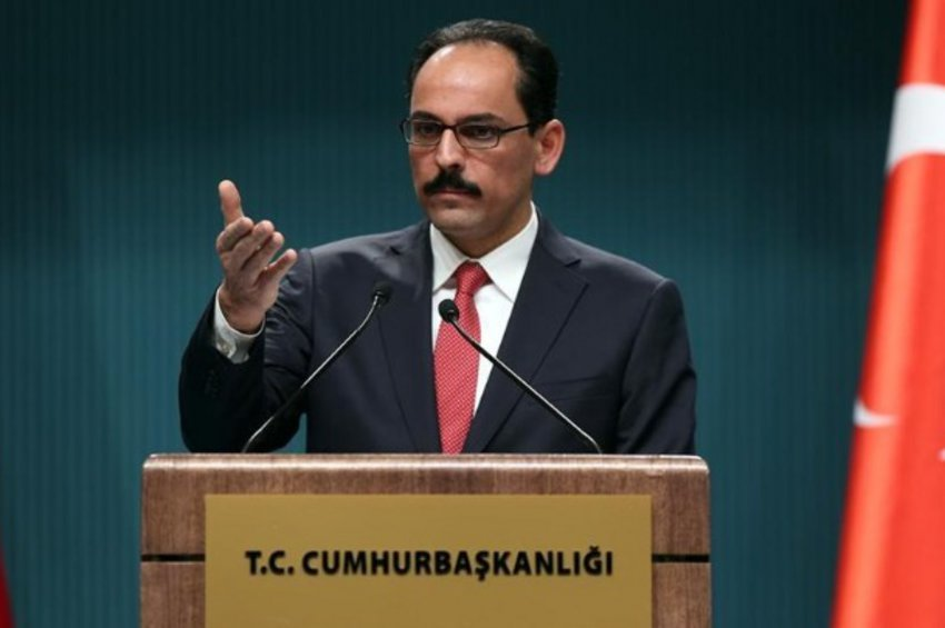 Καλίν: Η Τουρκία θα υπερασπιστεί τα συμφέροντα και τα δικαιώματά της στο μέτωπο και στο τραπέζι