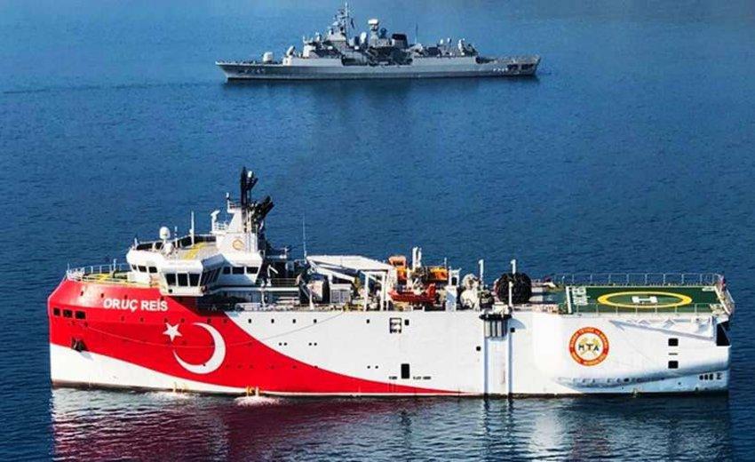 «Το Oruc Reis επέστρεψε στη βάση του για συντήρηση και θα συνεχίσει τις έρευνες του» λένε οι Τούρκοι