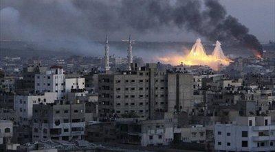 Ισραηλινά μαχητικά βομβάρδισαν τοποθεσίες στη Λωρίδα της Γάζας