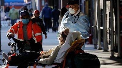 ΗΠΑ-CΟVID-19: 1.105 νέοι θάνατοι και 37.017 νέα περιστατικά μόλυνσης