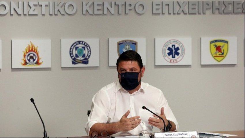 Έκτακτη σύσκεψη στην Πολιτική Προστασία για τον «Ιανό»