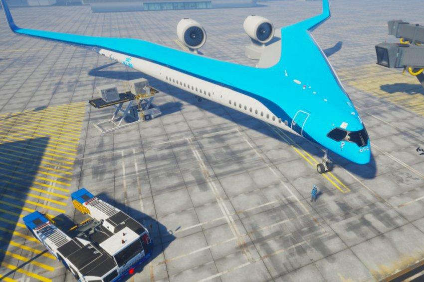 Flying-V: Το «αεροσκάφος του μέλλοντος» έχει σχήμα σαΐτας - ΒΙΝΤΕΟ