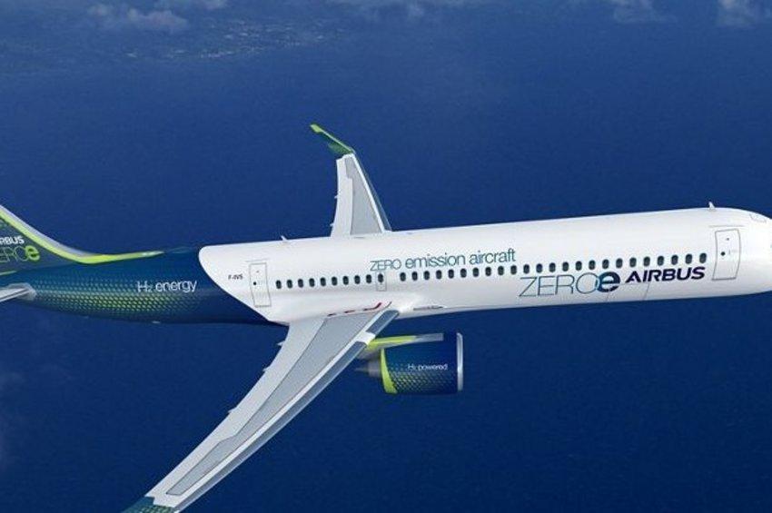 Το πρώτο «καθαρό» επιβατηγό αεροπλάνο με υδρογόνο αντί για ορυκτά καύσιμα - Το σχέδιο της Airbus για το 2035