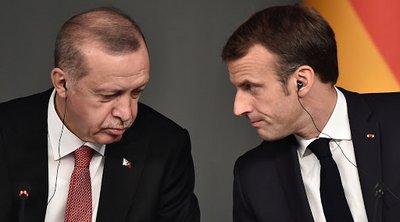 Ο Ερντογάν δήλωσε στον Μακρόν ότι η συνεργασία των δύο χωρών έχει «πολύ σοβαρή δυναμική»