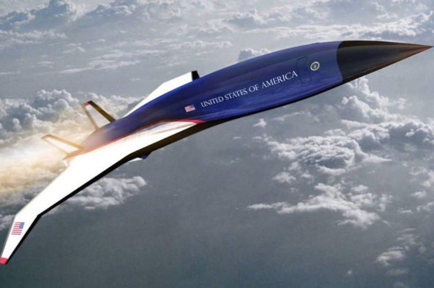Αυτό είναι το νέο Air Force One που θα σπάσει το φράγμα του ήχου