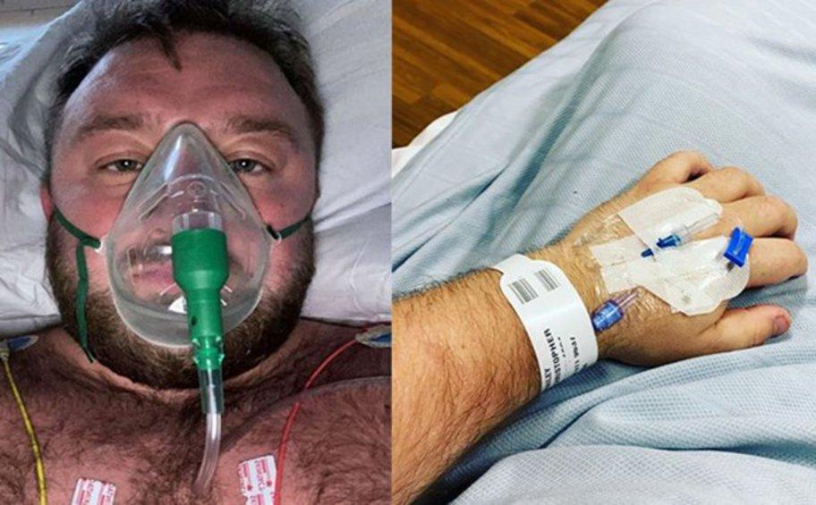 Αρνητής του ιού στη Βρετανία μέσα από την Εντατική: «Νόμιζα ότι ήμουν ανίκητος» - ΒΙΝΤΕΟ