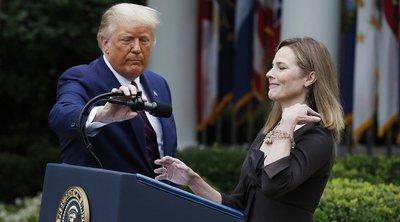 Τραμπ: Δεν συζήτησα τις προεδρικές εκλογές με την υποψήφια για διορισμό στο Ανώτατο Δικαστήριο Έιμι Κόνεϊ Μπάρετ