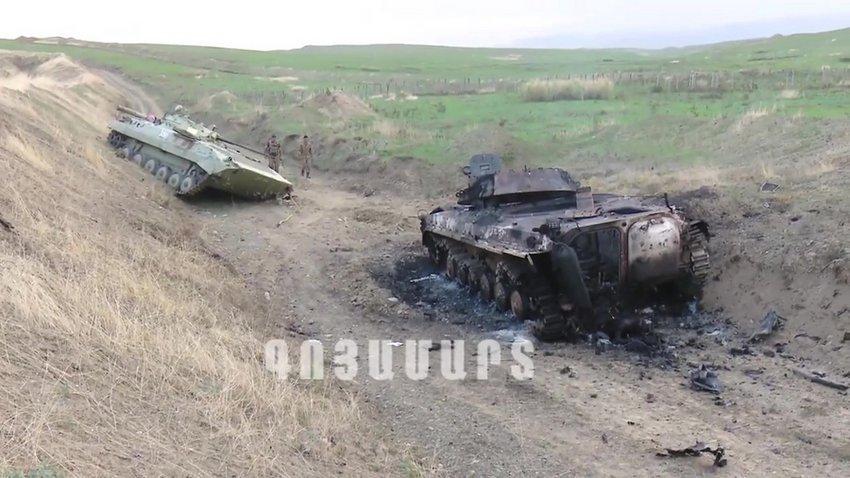 Αρμενία-Αζερμπαϊτζάν: Οι συγκρούσεις συνεχίζονταν σήμερα το πρωί