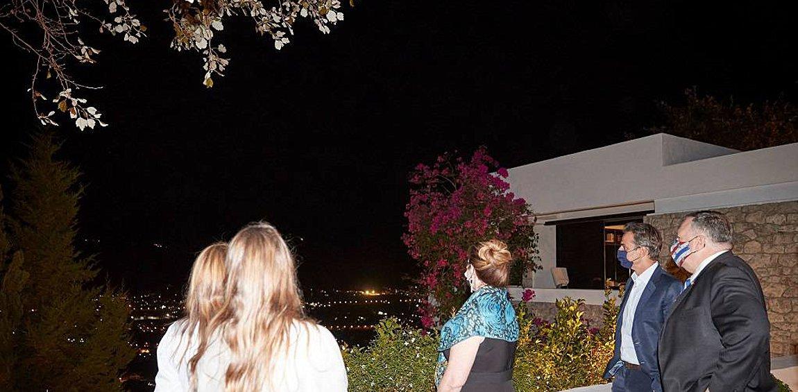 Στο σπίτι του Μητσοτάκη ο Πομπέο με θέα τη Σούδα - Δρακόντεια μέτρα ασφαλείας - Το πρόγραμμα φιλοξενίας - ΒΙΝΤΕΟ
