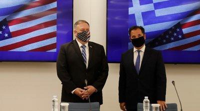 Την επιστημονική και τεχνολογική συμφωνία Ελλάδας-ΗΠΑ υπέγραψαν Πομπέο - Γεωργιάδης