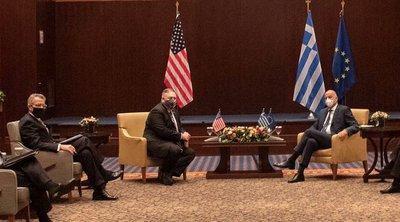 Πάιατ: Στηρίζουμε τις προσπάθειες της Ελλάδας για οικοδόμηση ειρήνης, σταθερότητας και ευημερίας στην Ανατ. Μεσόγειο
