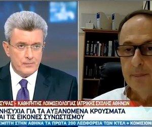 Σύψας: Η Αττική το «καυτό» σημείο της επιδημίας στην Ελλάδα - ΒΙΝΤΕΟ