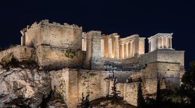 Ετοιμος ο νέος φωτισμός της Ακρόπολης - Εγκαίνια αύριο από Σακελλαροπούλου και Μητσοτάκη - ΒΙΝΤΕΟ