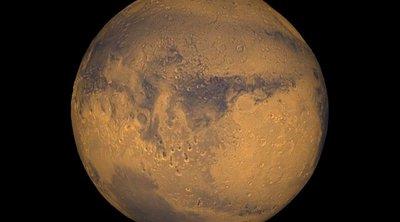 Νέες ενδείξεις για τέσσερις υπόγειες λίμνες με αλμυρό νερό στον νότιο πόλο του Άρη
