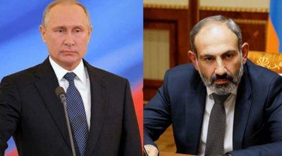 Επικοινωνία Πούτιν-Πασινιάν: Ο Ρώσος πρόεδρος κάλεσε όλες τις πλευρές να σταματήσουν τις εχθροπραξίες στο Ναγκόρνο-Καραμπάχ
