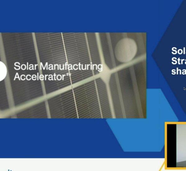 Α. Χαντάβας σε SPE: Η τεχνολογία φωτοβολταϊκών θεμέλιος λίθος του green deal