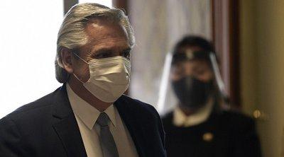 Κορωνοϊός - Πρόεδρος Αργεντινής: Η πανδημία κάθε άλλο παρά τελείωσε, πρέπει να φανούμε πιο υπεύθυνοι