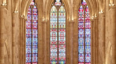 Βιτρό για το πιο παλιό γερμανικό μοναστήρι από τον Γκέρχαρντ Ρίχτερ