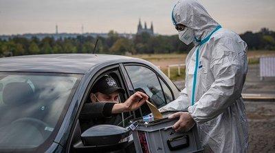 Τσεχία-κορωνοϊός: Ο υψηλότερος αριθμός νέων κρουσμάτων καταγράφηκε το προηγούμενο 24ωρο