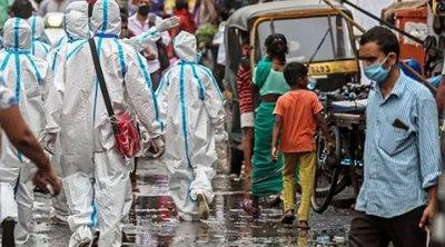 Ινδία-Κορωνοϊός: Σχεδόν 44.500 κρούσματα, 524 θάνατοι σε 24 ώρες