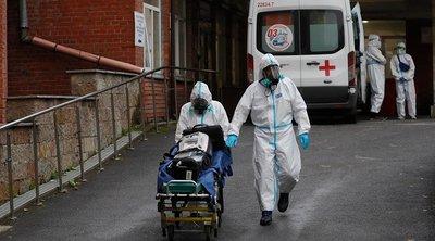 Ρωσία-κορωνοϊός: 7.639 νέα κρούσματα και 351 θάνατοι το τελευταίο 24ωρο
