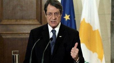 Αναστασιάδης: Ετοιμότητα να συμμετάσχω εποικοδομητικά και δημιουργικά στη διάσκεψη για το Κυπριακό