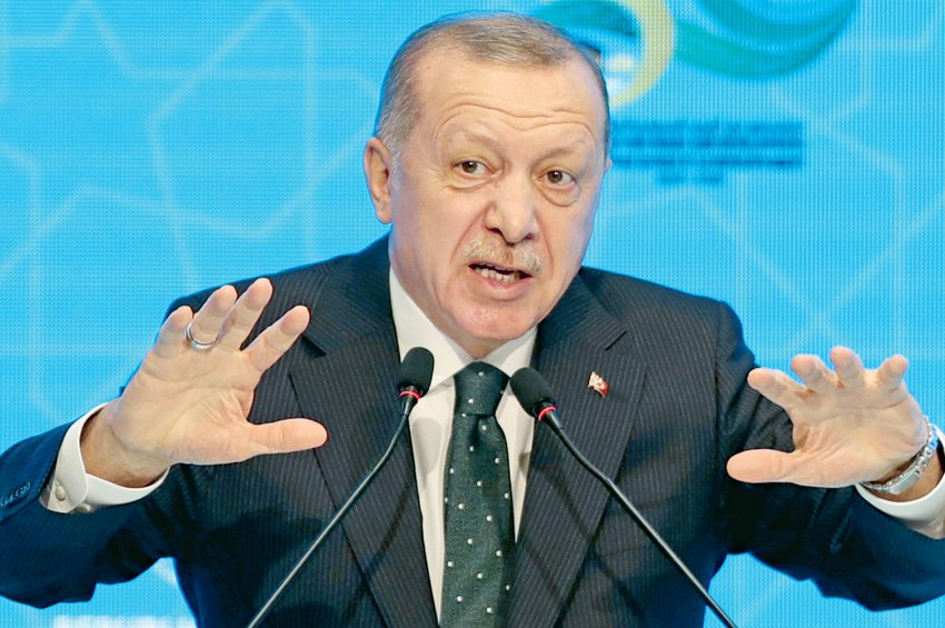 Ναρκοθετεί τον διάλογο ο Ερντογάν