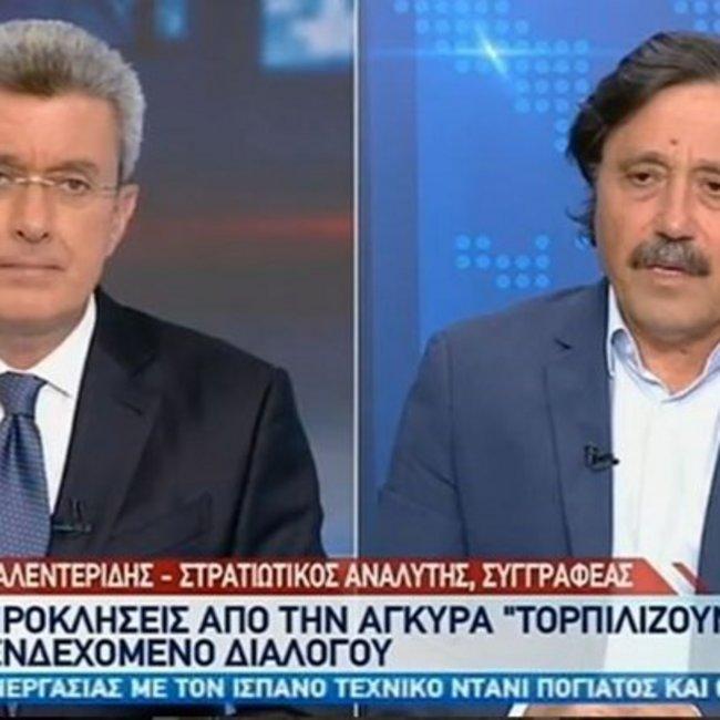 Καλεντερίδης: Ο Ερντογάν «γύρισε» το Ορούτς Ρέις μετά το «χαστούκι» από τον Πούτιν - BINTEO