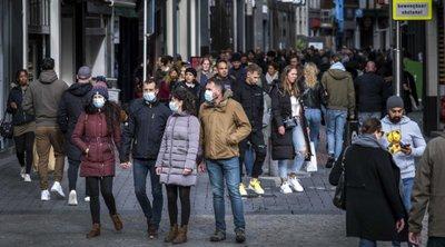 Ολλανδία-κορωνοϊός: 8.114 νέα κρούσματα, ημερήσιος αριθμός ρεκόρ