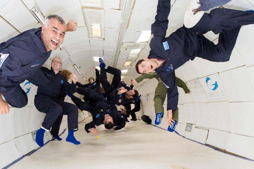 Το αεροπλάνο που προσομoιώνει τις συνθήκες ενός διαστημόπλοιου