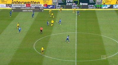 Σπουδαία νίκη της Ντόρτμουντ: 0-1 τη Χόφενχαϊμ - Τα highlights