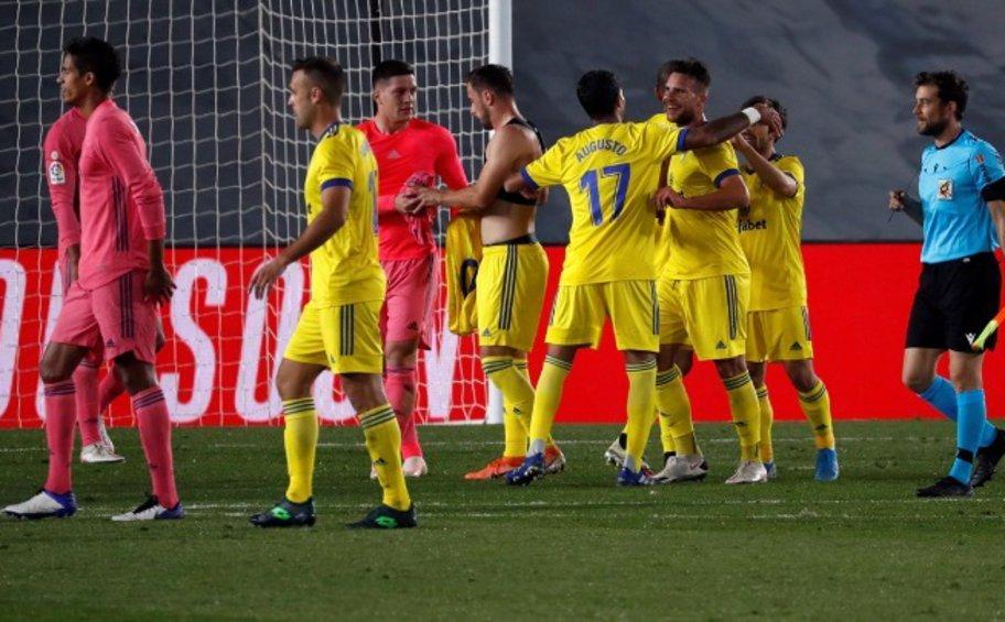 La Liga: Η Ρεάλ έχασε από την Κάντιθ - ΒΙΝΤΕΟ