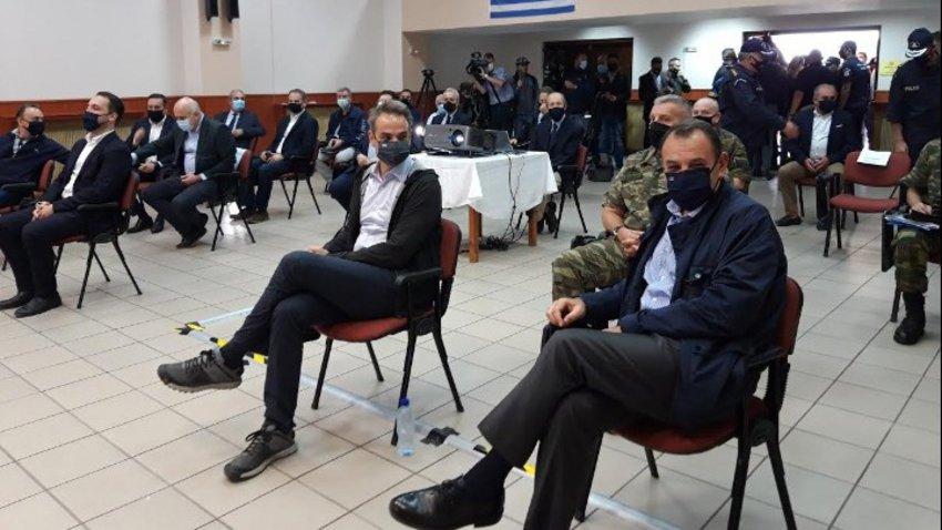 Μητσοτάκης: Η κατασκευή του νέου φράχτη στον Έβρο ήταν το ελάχιστο που μπορούσε να κάνει η κυβέρνηση για να νιώθουν ασφαλείς οι Έλληνες