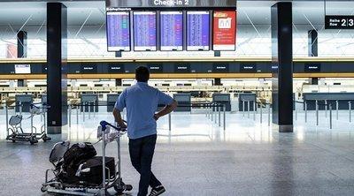 Κορωνοϊός: «Βουτιά» 68,9 % στην επιβατική κίνηση στα αεροδρόμια της χώρας