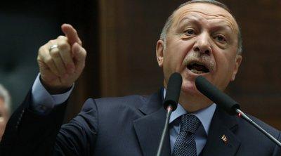 Ερντογάν: Η Άγκυρα έχει το νόμιμο δικαίωμα να αναλάβει δράση αν οι μαχητές δεν έχουν εκκαθαριστεί από τα σύνορα της με τη Συρία