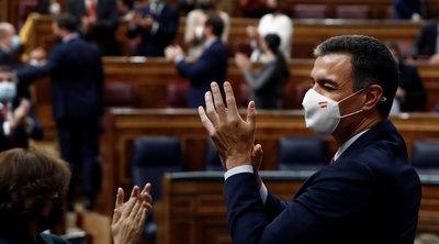 Ισπανία: Το κοινοβούλιο απέρριψε την πρόταση μομφής που είχε καταθέσει η ακροδεξιά κατά της κυβέρνησης Σάντσεθ