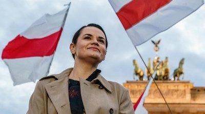 Βραβείο Ζαχάροφ: Η Τιχανόφσκαγια κάνει λόγο για «μια επιβράβευση του λευκορωσικού λαού»